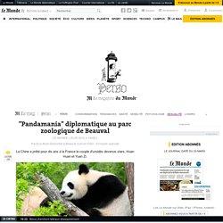 """""""Pandamania"""" diplomatique au parc zoologique de Beauval"""