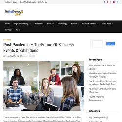Post-Pandemic - The Future of Business Events & Exhibitions
