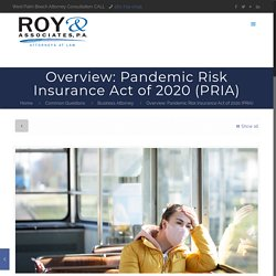 Pandemic Risk Insurance Act of 2020