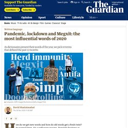 Pandemic, lockdown and Megxit: the most influential words of 2020