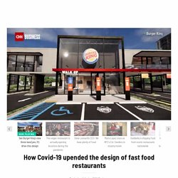 How the pandemic will change fast food restaurant designs