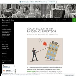 Realty Sector Hit by Pandemic