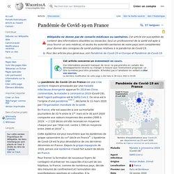 Pandémie de Covid-19 en France