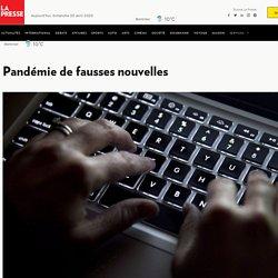 Pandémie de fausses nouvelles
