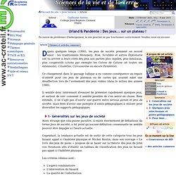 Urland & Pandémie : Des jeux... sur un plateau !