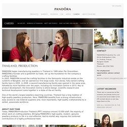 PANDORA Production Thailand