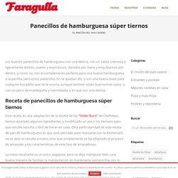 Panecillos de hamburguesa súper tiernos - Faragulla
