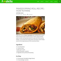 Recipe : How to make - Foodie2u