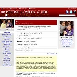 QI - BBC2 / BBC1 Panel Show