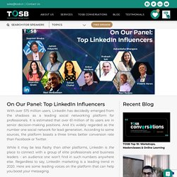 Join Top Social Media Influencers on TOSB Panel