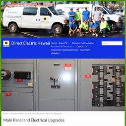 Panel Services, Repair, Upgrade
