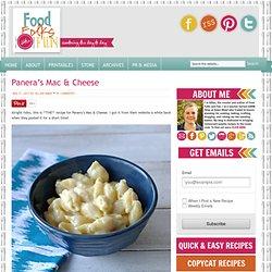 Panera's Mac & Cheese Recipe, Easy Mac & Cheese