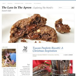 Tuscan Panforte Biscotti: A Christmas Inspiration