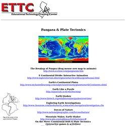 Pangaea & Plate Tectonics