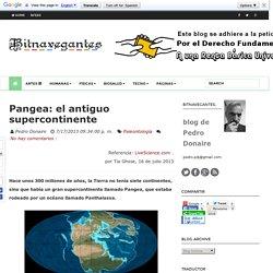 Pangea: el antiguo supercontinente