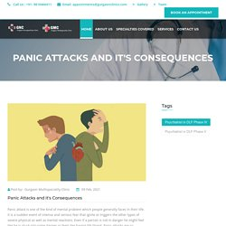 Panic Attacks and it's Consequences