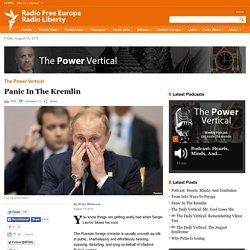 Panic In The Kremlin