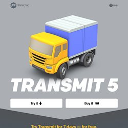 Transmit - The ultimate Mac OS X FTP + SFTP + S3 app
