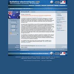 BE Australie 59 >> 8/09/2008 Biologie - Biodiversité - Urochloa panicoides est devenue résistante au glyphosate