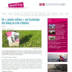 Un « panier culture » sur le principe des Amap se crée à Nantes