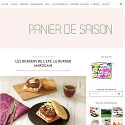 Panier de Saison » Les Burgers de l'été: le Burger Marocain