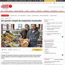 Un panier rempli de surprises musicales , Bretagne 29/11/2012