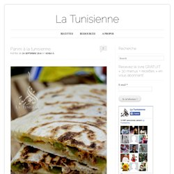 Panini à la tunisienne