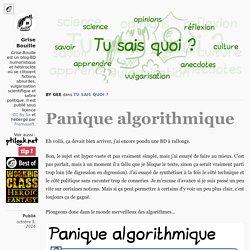 Panique algorithmique