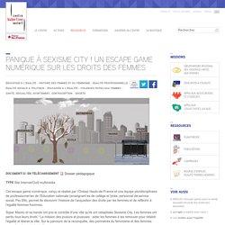 Panique à sexisme city ! Un escape game numérique sur les droits des femmes