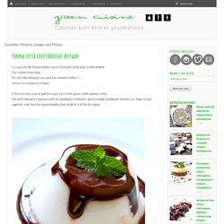 Panna cotta coco chocolat