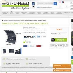 Panneau solaire 12V MX FLEX 30Wc