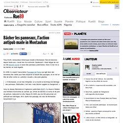 Bâcher les panneaux, l'action antipub made in Montauban