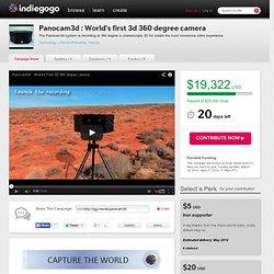 Panocam3d : World's first 3d 360 degree camera