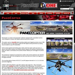 PanoCopter - Aerial Spherical Panorama - Drone - Multirotor