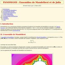 PANOMAND : Ensembles de Mandelbrot et de Julia