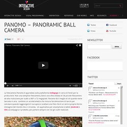 Panomo – Panoramic Ball Camera