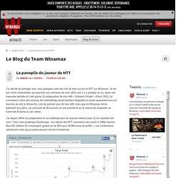 La panoplie du joueur de MTT - Le Blog du Team Winamax