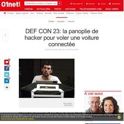 DEF CON 23: la panoplie de hacker pour voler une voiture connectée