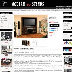 PANORAMA 2 WENGE TV STAND