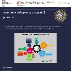 Panorama de la presse d'actualité jeunesse