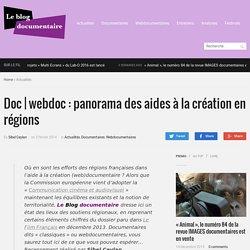 webdoc : panorama des aides à la création en régions