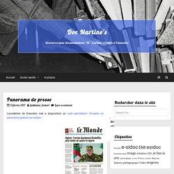 Panorama de presse — Doc Martine's