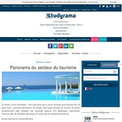 Panorama du secteur du tourisme