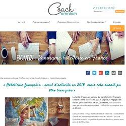 BONUS : Panorama hôtellerie en France - Coach Omnium