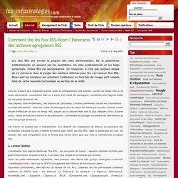 Comment lire les flux RSS/Atom ? Panorama des lecteurs-agregateurs RSS