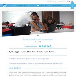 Panorama des médias en ligne