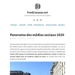 Panorama des médias sociaux 2020
