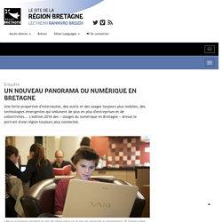 Un nouveau panorama du numérique en Bretagne