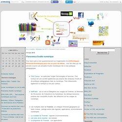 Panorama d'outils numérique