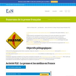 Panorama de la presse française - Éducation & Numérique
